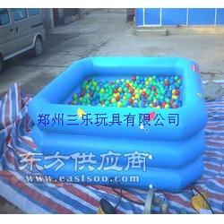 充气沙池充气玩具里面的玩具样样齐全速购图片