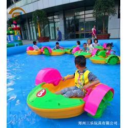 支架水池搭配水上手摇船经营起来很受欢迎赶快来选购吧图片