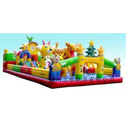 室外海绵宝宝充气城堡滑梯加厚PVC材质用着更放心图片