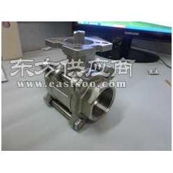 Q11F-16螺纹式三片式高平台球阀图片