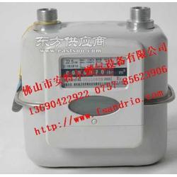 购皮膜表 煤气表流量计家用煤气表压力表图片