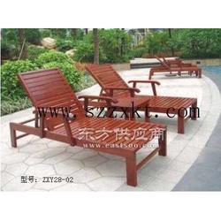 沙滩椅厂家实木沙滩躺椅产品规格特点图片
