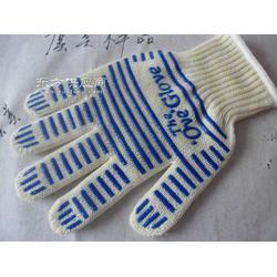 厂家专业生产针织微波炉手套烤箱手套图片