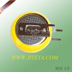 CR2025焊脚 插脚 引脚电池图片