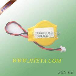 CR2032电池带线 带线电池图片