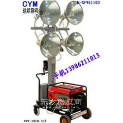 名牌品质多功能投射照明车燃油式照明车图图片