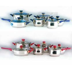 凯迪克不锈钢套锅系列摩洛哥12件庄套锅图片