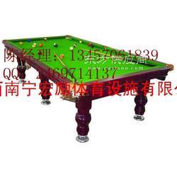 工厂防火板美观实用美式台球桌图片