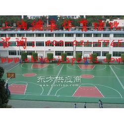 塑胶EPDM颗粒网球场施工 丙烯酸篮球场图片