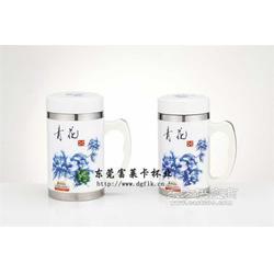 玉瓷保温杯工厂生产保温杯厂家图片