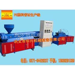 聚乙烯塑料制管机/塑料制管机厂家图片