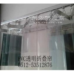 供应折叠型隔断帘移动折叠帘图片