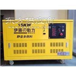 12千瓦小型天然气发电机图片