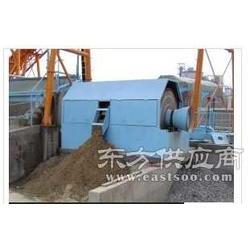 双水轮洗砂机 混凝土沙石分离机厂家 小型淘金船图片