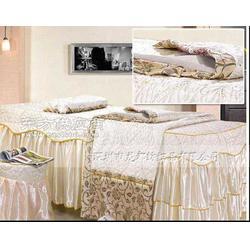 美容床上用品套件 美容床单 美容裙 凳套厂家订做图片