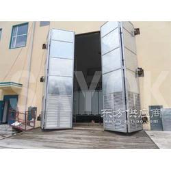 彩钢折叠门、金属折叠门图片
