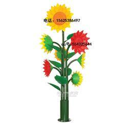 户外向日葵灯LED发光向日葵大型向日葵装饰景观图片