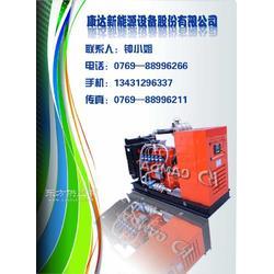 康达H系列燃气发电机组220kw静音箱装置低噪音图片