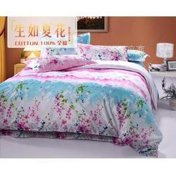 纯棉四件套供应床上用品四件套床笠四件套图片