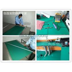 配电室防静电地垫怎么铺创选宝防静电地垫施工便捷 提供技术指导图片