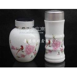 陶瓷保温杯茶叶罐礼品套装图片