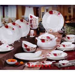 高档骨瓷餐具套装生产厂家图片