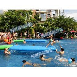 供应易动体育52水上趣味闯关水上障碍器材图片
