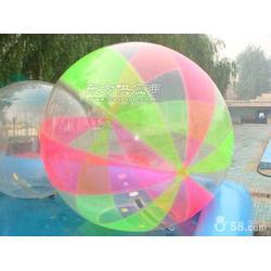 户外水上滚筒步行球儿童水上游戏充气玩具球图片