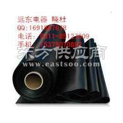 黑色絕緣膠墊35kv驗電器供水管道警示帶報價圖片