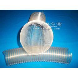 pu加钢丝管 透明pu钢丝管图片