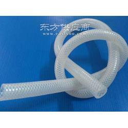 透明编织硅胶管图片
