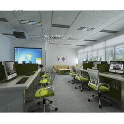 方方升降式屏风电脑桌,电动屏风桌图片