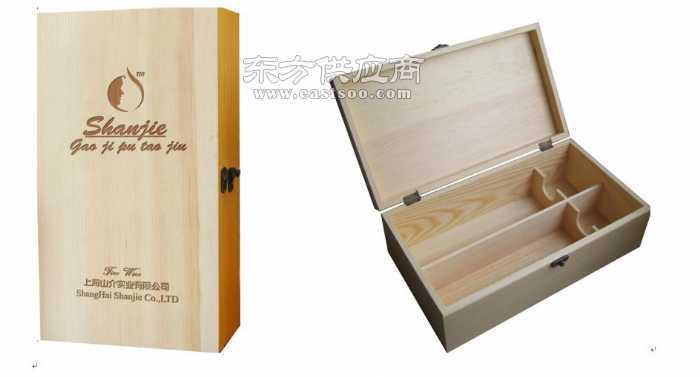 松木框架实木上盖厂家定做木盒