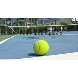 网球场-丙烯酸网球场建造硅PU网球场铺装图片