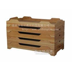 幼儿园家具-实木叠摞床图片