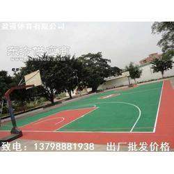 硅pu篮球场塑胶网球场多少钱一平米图片