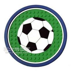 世界杯杯垫足球杯垫软胶杯垫硅胶杯垫图片