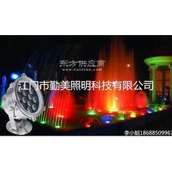 12W水底灯12W喷泉灯不锈钢地埋灯水底灯图片