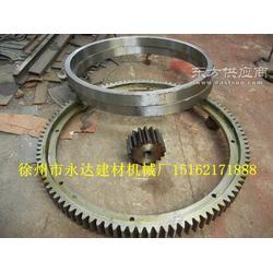 大直径煤泥烘干机配件滚圈 齿轮 齿圈 托辊图片