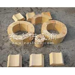 3公分厚保温层用管道垫木 垫块 管托 木托 保冷块图片