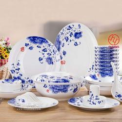 规格齐全56头陶瓷餐具,礼品餐具图片