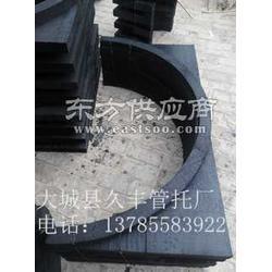 中央空调木托垫木铁卡厂 中央空调回水管木托厂家图片