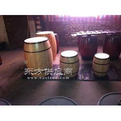 木桶花盆图片