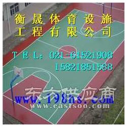 塑胶篮球场标准尺寸 塑胶篮球场标准厚度图片