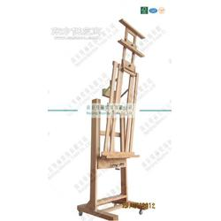 生产 MDHJ-1 双摇杆大画架 榉木油画架接受OEM图片