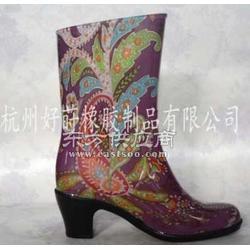 高跟女士雨鞋图片