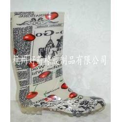 歐美pvc雨鞋圖片