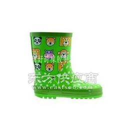 绿色橡胶儿童雨鞋图片