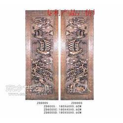 铜浮雕门芯板图片