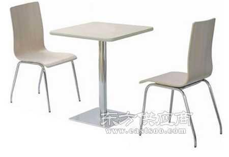 花都不锈钢快餐桌椅图片